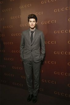 Model Cheney Chen attends GUCCI's new store opening at IAPM Mall on May 26, 2014 in Shanghai, China.