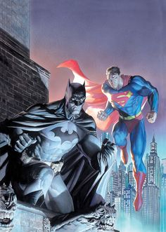 Legendary Heroes by Alex Ross and Jim Lee