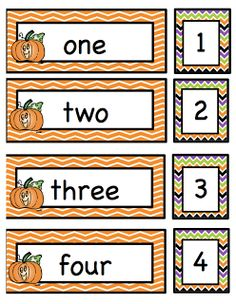 Preschool Printables: Halloween