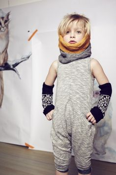Peruvian hand knit scarves and armwarmers from Cabbages and Kings for fall 2014