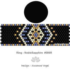 peyote patternPDF-Download 086R peyote ring beading