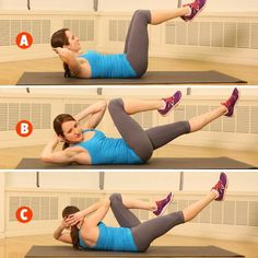Did you know these 4 exercises to target your mommy tummy effectively. Secret moves to target your Mommy Tummy Beautiful bodies few days. While there are many ab exercises that target this area and work great to . Abs Workout Video, Tummy Workout, Belly Fat Workout, Crunch Workout, Tummy Exercises, Exercise Workouts, Workout Fitness, Cardio, Love Handles