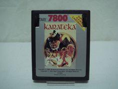 juego atari 7800 KARATECA-sin caja ni instrucciones