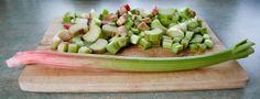 Widzimrka: Placek z rabarbarem / Rhubarb pie