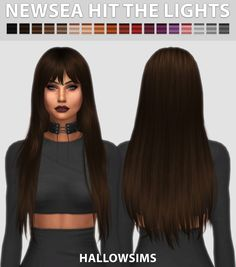 Sims 4 CC's - The Best: Newsea Hit the Lights by HallowSims