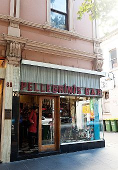 Iconic coffee house Pellegrini's in Melbourne (by The Selby). Eat pasta at the bar.