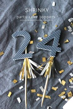 DIY Shrinky Cake Toppers | by Jordan www.polkadotprints.com.au