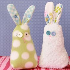 Fluffy Fleece Bunny - You can fill your child's room with warm and fuzzy stuffed animals without ever having to set foot in a toy store. Check out this tutorial to learn how to make a Fluffy Fleece Bunny all by yourself. DIY stuffed animals are a low-budget alternative to similar, more expensive retail products. Grab any patterned fleece you've had your eye on and get started making a toy your child will absolutely love.
