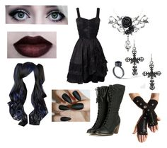 """""""Gothic"""" by brizymc ❤ liked on Polyvore"""