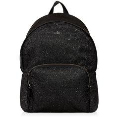 Hogan - Backpack (€555) ❤ liked on Polyvore featuring bags, backpacks, black, day pack backpack, zip bag, backpack bags, zipper bag and rucksack bags