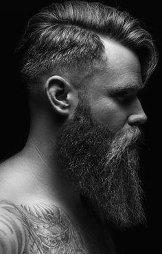 long thick and shiny fuller beard