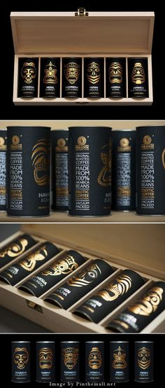 Exotic coffee collection