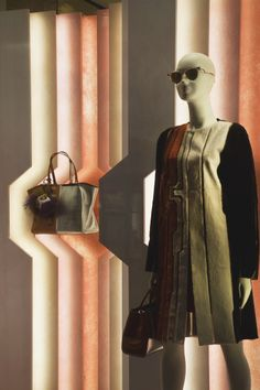 The new Spring/Summer 2014 Windows in the Fendi New York store