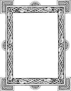 Celtic frame graphic by DeviantNepStock