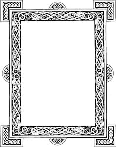 Celtic frame graphic by DeviantNepStock