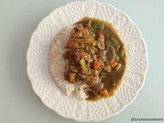Receta de curry japonés o katsu-kare