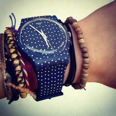 Rock the Polka Dots.. Swatch