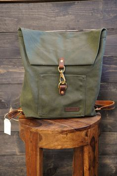 Bradley Mountain Canvas Backpack