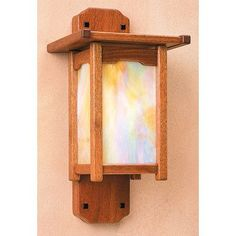 Arroyo Craftsman Thorsen 1 Light Wall Sconce Finish: Slate, Shade Color: Amber Mica