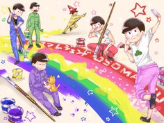 おそ松さん Osomatsu-san      Beef Pork Chicken - 6つ子~~~~♪...