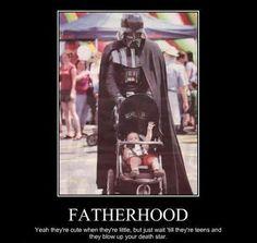 Darth vader's fatherhood