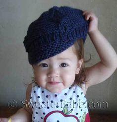newsboy cap free knitting pattern