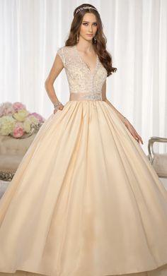 Wedding dress ~ vestido de novia!! Ese es mi estilo! @Yvettnavarro aunque hay muchos más para ver! busca el tuyo y me lo pasas ;)