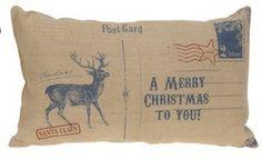 Kussen in  kerst enveloppe vorm - blauw hertje met tekst: http://www.homi.nl/a-41374272/kerst/kussen-in-kerst-enveloppe-vorm-blauw-hertje-met-tekst/