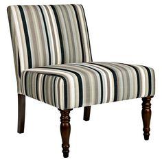 Found It At Wayfair   Bradstreet Slipper Chair In Black Stripe (Set Of 2)