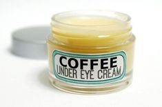 This Natural DIY Coffee Under Eye Cream Recipe is made using homemade coffee infused oil which can help with puffiness, fine lines and dark circles! http://soapdelinews.com/2013/12/diy-natural-coffee-under-eye-cream-for-puffy-eyes.html (Like it? Share it!)