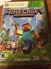 """Gently Used XBOX 360 Game """"Minecraft Xbox 360 Edition """" Rated E"""