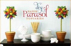 Paper Parasol tutorial