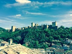 La Alhambra desde el Albaicin bajo Granada, River, Outdoor, The Neighbourhood, St Michael, Flat, Outdoors, Grenada, Rivers