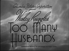 Too Many Husbands!!