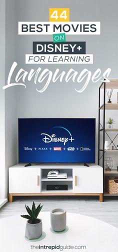 44 Best Movies on Disney Plus for Learning Languages Best Language Learning Apps, Learning Languages Tips, Learn A New Language, Second Language, Learning Resources, Teaching Spanish, Learn Spanish, Spanish Class, The Rescuers Down Under