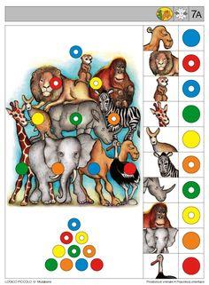 Soubor Logico Piccolo - Prostorové vnímání Pravolevá orientace Vhodné pro děti od 5 - 8 let Soubor obsahuje 16 různých karet * Motýli, čtyřlístky, jabloně, znaky avlajky, jablka aptáci – Sequencing Cards, Brain Activities, English Lessons, Speech Therapy, Perception, Playroom, Teacher, Album, Math