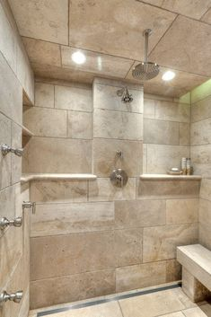 33 stunning pictures and ideas of natural stone bathroom floor tiles Bathroom Tile Designs, Bathroom Floor Tiles, Bathroom Ideas, Room Tiles, Wall Tiles, Subway Tiles, Lowes Bathroom, Tile Mirror, Shower Designs