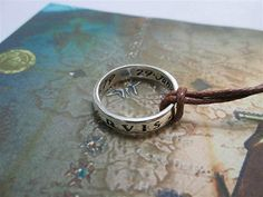 UNCHARTED  Ring of silver 925%-artisan production