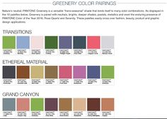 Image result for pantone color pairings