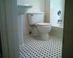 Bathroom Flooring Options With Mosaic Style7