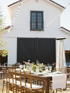 Classic Santa Barbara Wedding at Apple Creek Ranch  Read more - http://www.stylemepretty.com/2014/02/19/classic-santa-barbara-wedding-at-apple-creek-ranch/