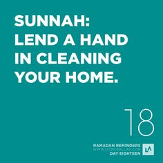 Many men think that housework is beneath them, and some of them think that it will undermine their status and position if they help the womenfolk at home. This was not the attitude of best man to ever walk on the face of this earth - Our beloved Prophet Muhammad (SWS). Helping your wife with the household chores is a much neglected Sunnah. Let it change this Ramadan! More Inspiration | www.LionofAllah.com