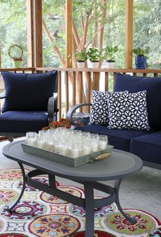 Here are 6 fall porch ideas to enjoy your outdoor room into the autumn season.