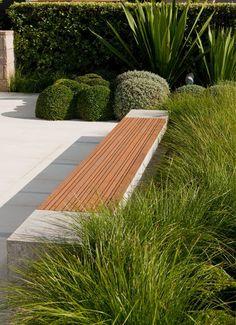 Aménagement paysager moderne: 104 idées de jardin #design                                                                                                                                                     Plus