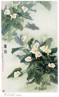 金鸿钧 国画 - 香儿 - xianger
