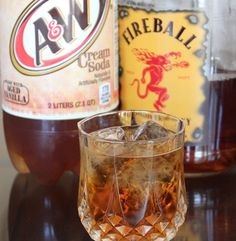 Ingredients to make cinnabon drink recipe Ingredients 1 Part Fireball Whiskey 3 Parts Cream Soda Serves: 1 Directions Pour ingredients into a shaker Add ice and shake Pour and enjoy! Party Drinks, Cocktail Drinks, Fun Drinks, Alcoholic Drinks, Cocktail Recipes, Liquor Drinks, Cinnabon, Pina Colada, Fireball Whiskey Drinks