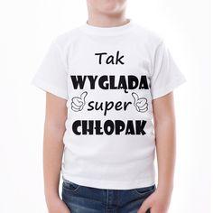 Tak wygląda super chłopak Tak wygląda super chłopak #chlopak #dzienchlopaka #tshirts #koszulka Cringe, V Neck, T Shirt, Tops, Women, Fashion, Moda, Tee, Women's