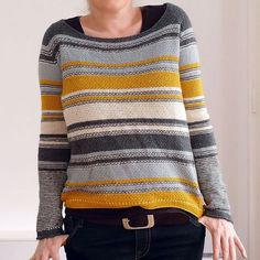 Modification Monday: Mouton Mix Sweater | knittedbliss.com