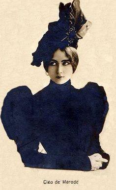 Cleo de Merode, La Belle Epoque! by Miss Mertens, via Flickr