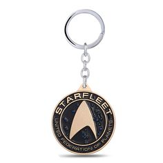 >> Click to Buy << Freeshipping Starfleet Keychain Shield Key Rings Hot Movie Gift Famous Movie Starfleet  llaveros Jewelry Key Holder for Car #Affiliate